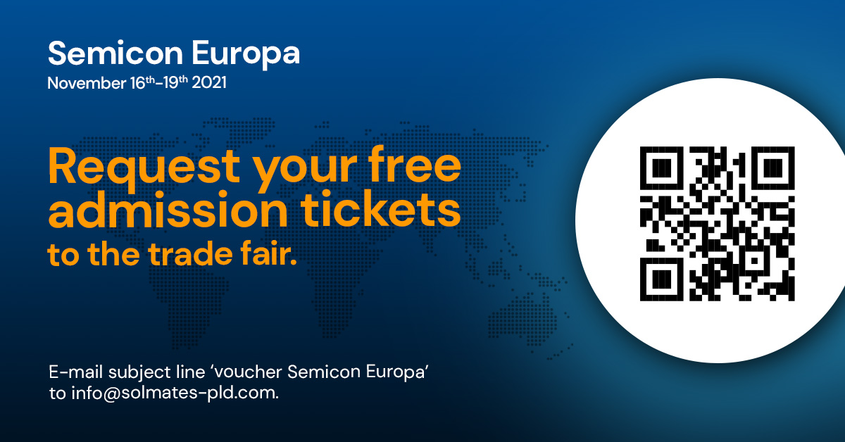 Request your free Semicon Europa admission ticket